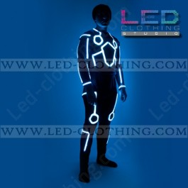 Shockproof  RGB Tron LED Costume