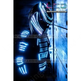 Predator Pixel LED Costume