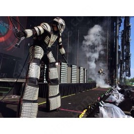 Kryoman / David Guetta Led Robot Costume
