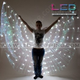 LED Wings with 140 ultrabright white LEDs