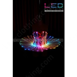 Fiber optic Ballet LED dress