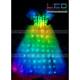 Wedding LED dress 2