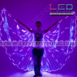 LED Wings RGB colors with 400 ultrabright LEDs