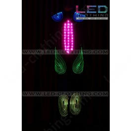 Mystery digital LED & fiber optics suit