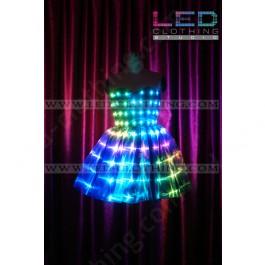 Digital full color LED skirt
