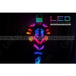 Robocop LED costume