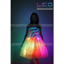 Rose LED dress