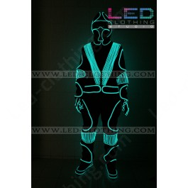 Daft Punk LED Robot glowing costume (version 3)
