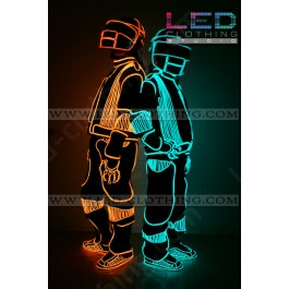 Daft Punk LED Robot glowing costume (version 2)