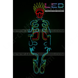 Tron King LED Costume