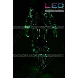 Heart-beat LED dance costume (version 2)
