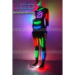 Halloween scary Smart RGB LED light costume