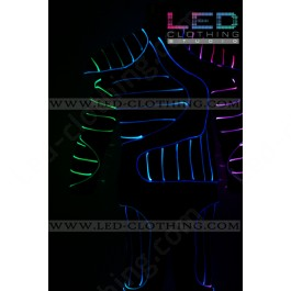 Armor LED dance suit