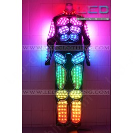 Musculate digital LED costume