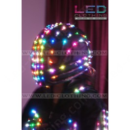 Smart LED helmet