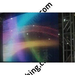Video LED Curtain/Mesh with Remote Control