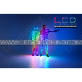 Digital Pixel Video LED Costume with wi-fi control