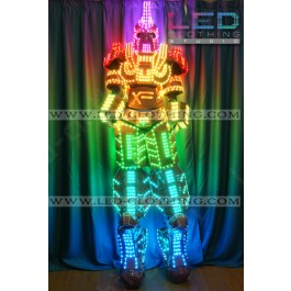LED Cyborg Suit with wireless control