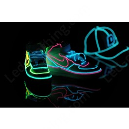 El wire light-up sneakers