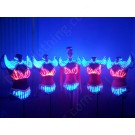 Dancer LED outfits with wings