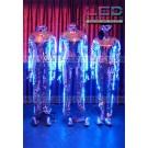 Mirrorman LED costume