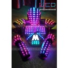 Robot LED vest with helmet