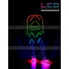 Arrow digital LED dance costume
