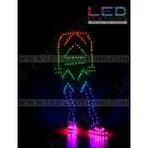 Arrow digital LED dance costume