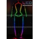 Futuristic stage digital LED costume