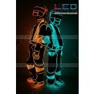 Daft Punk LED Robot glowing costume (version 2)