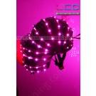 Robot LED helmet
