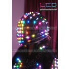 Smart Pixel LED helmet with headphones for Javier
