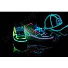 El wire light-up sneakers