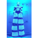 Video LED Robot costume with wi-fi remote control
