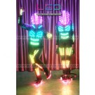 Astronaut Robot Smart LED dance costume